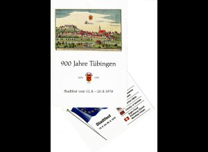 Stadtfest Tübingen 1978, 2 Karten