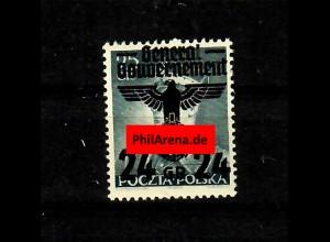 GG: Plattenfehler MiNr. 14I, postfrisch, **, BPP Signatur