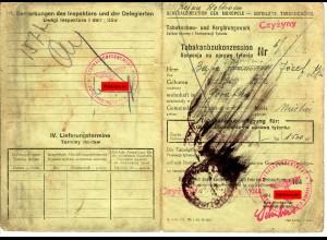 GG: Tabakanbaukonzession Czyzyny/Miechow 1944