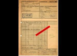 GG: Monopol Vertrieb Mineralöl, Krakau 1940: Verkauf Bitumen nach Neu Sandez