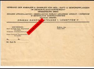 GG: Blanko Kurz-Vorlage: Verband der Anbauer und Sammler von Heil-Duft Gewürz-