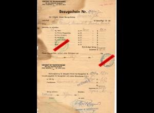 GG: Bezugschein für 58kg Hafer, Tarnow-Debica 1942