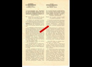 GG: ca. 1939: Information über geordnete Nahrungsversorgung im GG