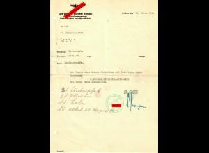 GG: Toilettenseife: Berechtigung zum Einkauf, Krakau 1940