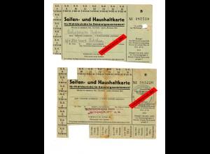 GG: Seifen- und Haushaltskarte für Nichtdeutsche 1944, Tschenstochau