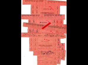 GG: 8x Lebensmittelkarten 1941 Kolonea Wygoda, Wawer