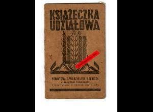GG: Radzyn 1941: Landwirtschaftliche Zentralstelle: Statut, Mitgliedschaft