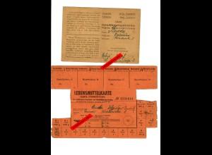 GG: Lebensmittelkarte und Ernährungskarfte 1944, Tarnow