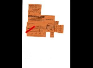 GG: Lebensmittelkarte für Nichtdeutsche über 14 Jahre: Radomsko 12.1944