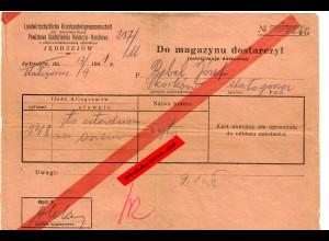 GG: Einlieferung ins Lager: Jedrzejow 1941