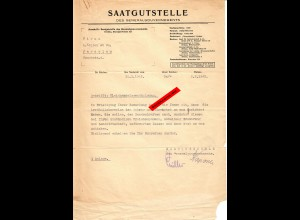 GG: Kleinhandelsgenehmigung Jarolau 1942: Saatgutstelle
