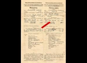GG: Mietvertrag privat-privat, Krakau 1941, Genehmigung Stadtverwaltung