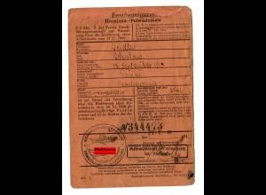 GG: Arbeitsamt Warschau 1944: Büroangestellter, Blachownia