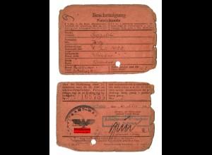 GG: Arbeitsamt Warschau 1942: Buchbinder Wisniewo