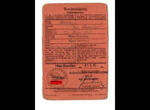 GG: Arbeitsamt Neu Sandez 1942: Arbeitsamtangestellter