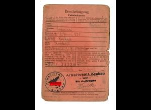 GG: Arbeitsamt Krakau 1942: Büroangestellte