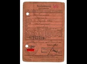 GG: Arbeitsamt Warschau 1942: Lokomotivführer Czarniejerno/Gniezno