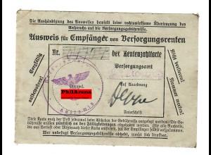 DR: Ausweis für Empfänger von Versorgungsrenten; Kattowitz