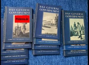 GG: Das Generalgouvernement: Vierteljahresheft mit Infos aus dem GG, KOMPLETT