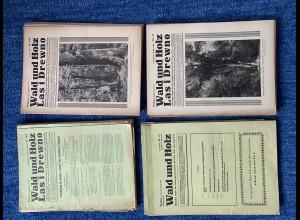 GG: Zeitschrift WALD und HOLZ/Las i Drewno in Deutsch und Polnisch 1940-44