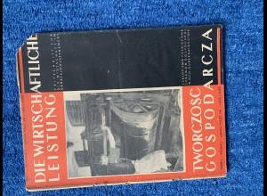 Heft: die wirtschaftliche Leistung im Generalgouvernement: Heft 3/1943