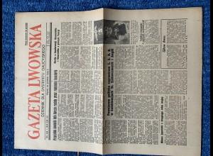 GG: Gazeta Lwowska 10. Dezember 1943