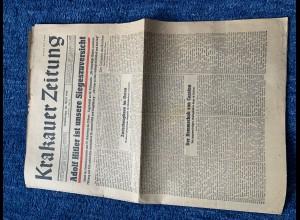 GG: Krakauer Zeitung 20.April 1944 - Geburtstag Adolf Hitler
