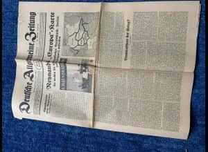 Deutsche Allgemeine Zeitung, 5. April 1940 und 14.9.1939
