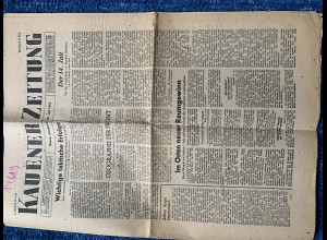 GG:Kauener Zeitung: 14.7.1943