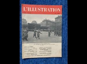 GG: L'illustration 6.4.1940, Französische Journal, L'aviation Polonaise, ...