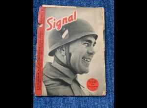 Signal: 1. März 1941: Sonderausgabe mit Max Schmeling, Galland, Horthy,
