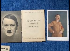 Illustrierter Beobachter: Sonderausgabe Adolf Hitler, Eher Verlag, große Bilder