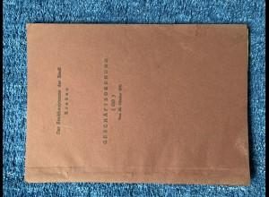 GG: Geschäftsordnung für inneren Dienst: Stadthauptmann von Krakau 26.10.1941