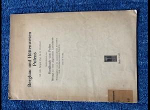 Bergbau und Hüttenwesen in Polens: 1917