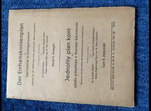 GG: Der Einheitskontenplan für Industriebetriebe: Anlagen 1942