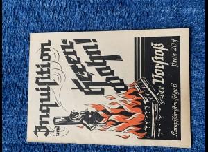 Broschüre: Inquisition und Hexenwahn: Kampfschrift