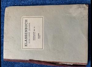 GG: Klassenbuch Schuljahr 1943/44, Klasse I+II, Przemysl,Ukrainische Volksschule
