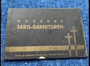 Sudetenland: Moderne Sarggarnituren, Weipert Sudetengau, 2 Hefte