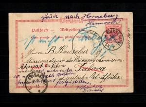 DOA: GZK 11893 von Buxtehude nach Tabora, DAr-es-Salaam, ev. und kath. Mission