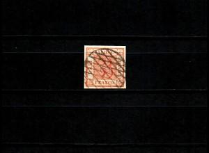 Sachsen 3er, als Sperati Fälschung Nr. 129 signiert
