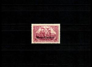 Memel MiNr. 13b, postfrisch, **, BPP Signatur