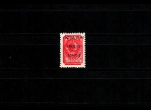 Litauen Telschen MiNr. 7 IK, postfrisch, **, Kopfsteher, BPP Signatur