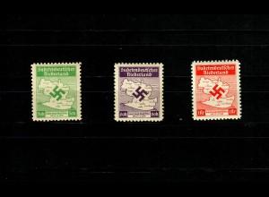 Sudetendeutsches Niederland, MiNr. IA-IIIA, postfrisch, **, teils BPP Signatur