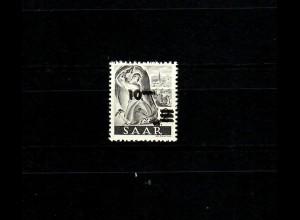 Saarland 1947: MiNr. 226 II DD, postfrisch, **, BPP Signatur