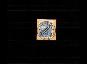 Dt. Post in China: MiNr. 11, Tientsin 1901 gestempelt Sorte II, BPP Attest