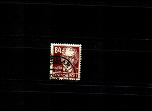 DDR: MiNr. 341vaXII, gestempelt Wismar 1953