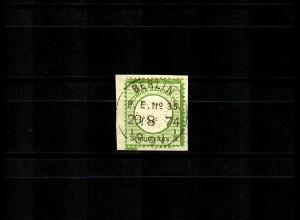 DR: MiNr. 17b, gestempelt Berlin auf Briefstück, Luxus geprüft BPP