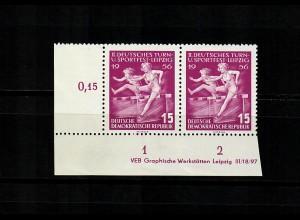 DDR MiNr. 532 YI DV, Eckrand E3, postfrisch, **, BPP Befund