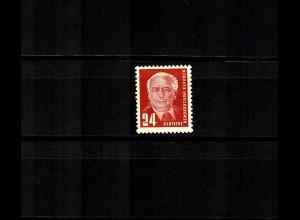 DDR MiNr. 252b, postfrisch, **, BPP geprüft