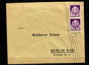 DR: MiNr. 818 III auf Brief, portogerecht nach Berlin